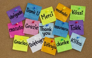 grazie all languages